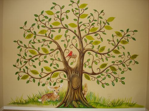 Wall Decoration Tree Painting: Skywoods Decorative Painting Faux Finishing Murals Phoenix AZ