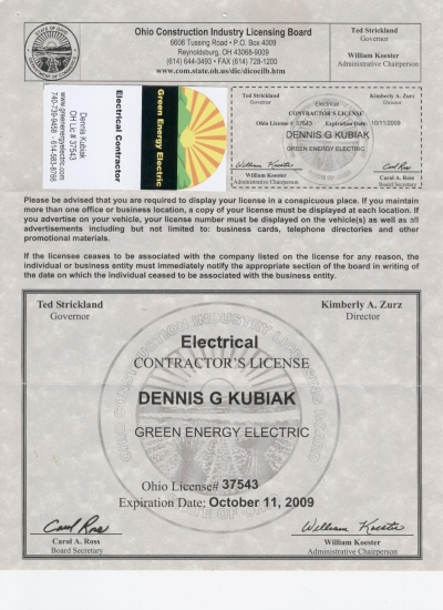 Green Energy Electric Ohio | greenenergyelectric.com