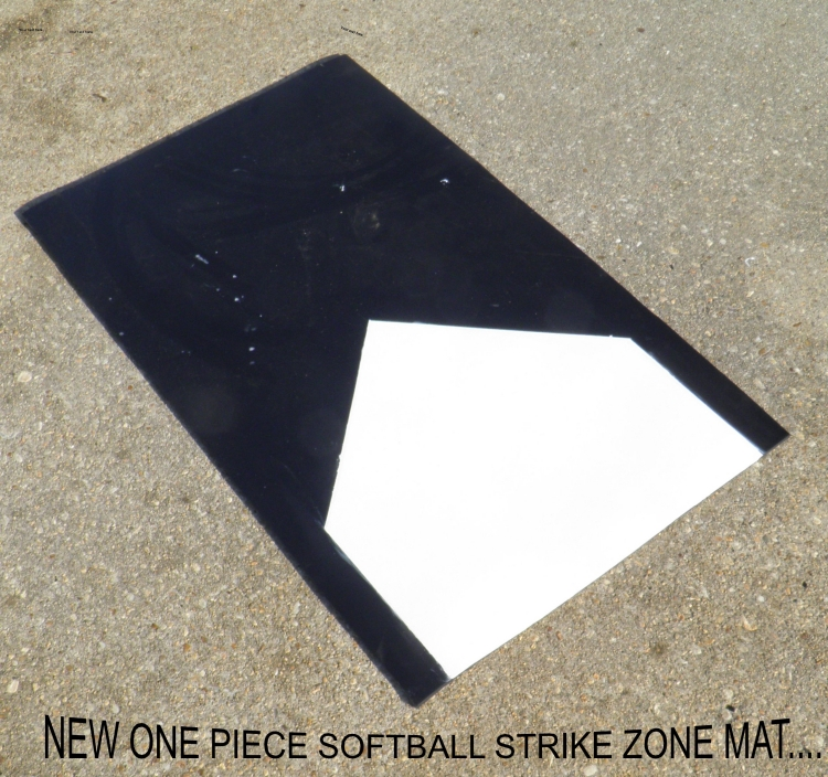 New And Improved One Piece Softball Strike Zone Mats