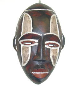 African American Figurines, African Black Soap From Ghana, African